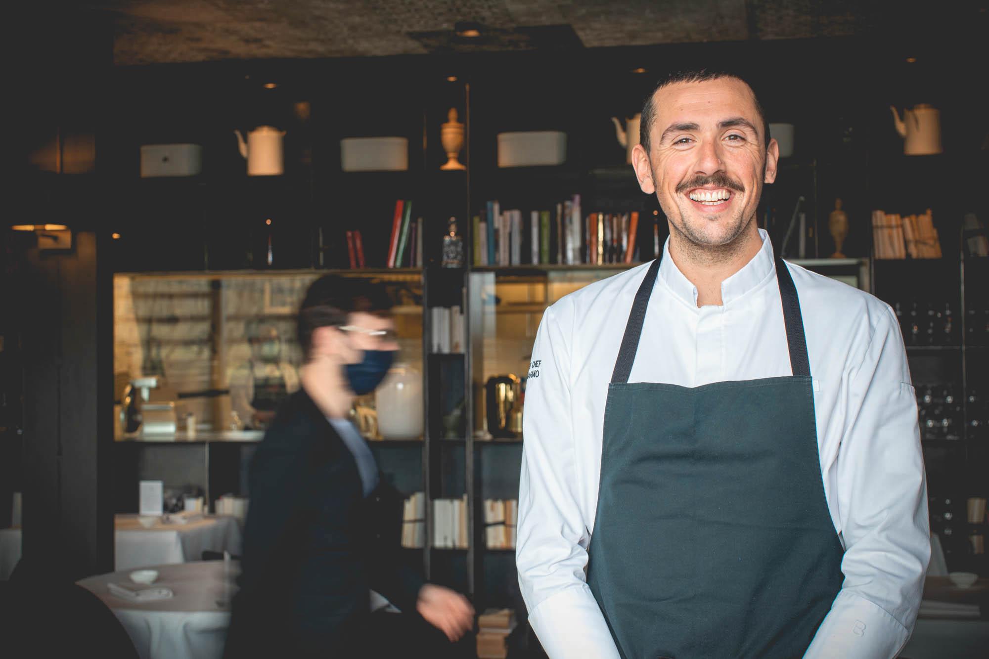 esperienza cooking class con Enrico Marmo