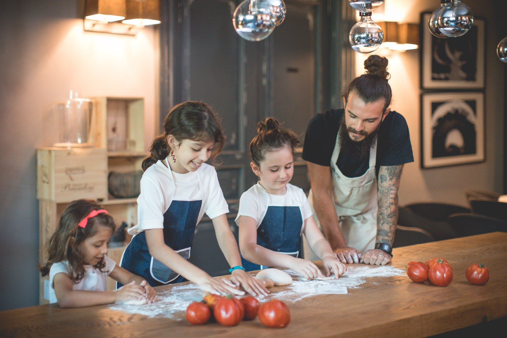 esperienza kids cooking class